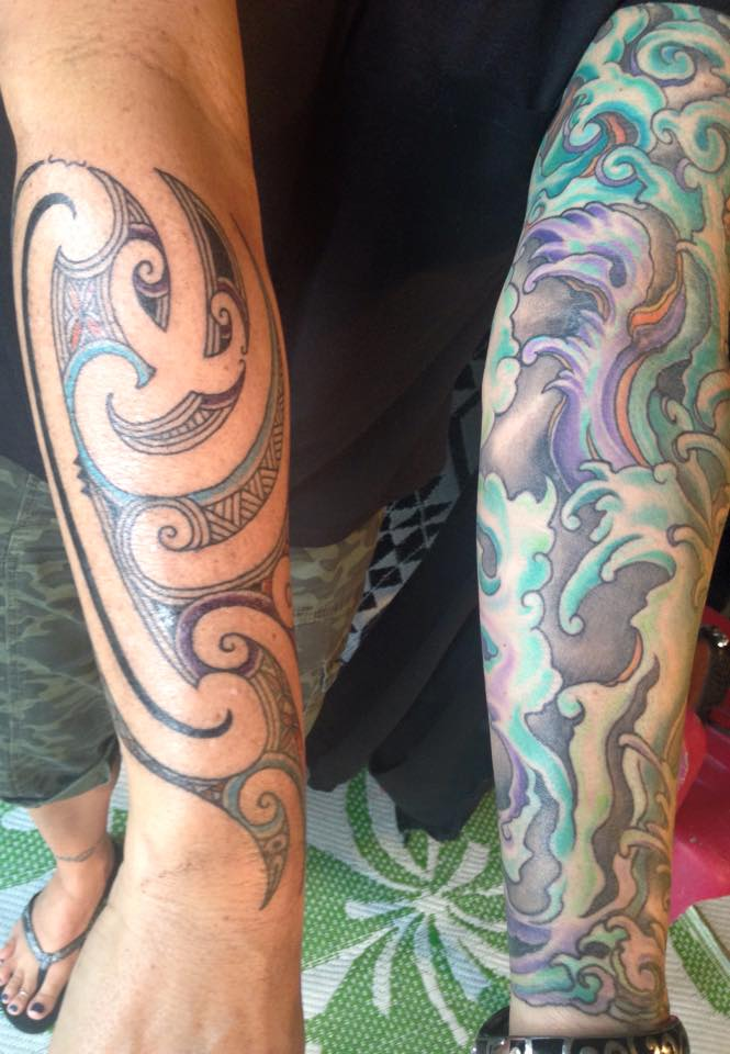 Maori Kirituhi Tattoo: The Difference Between 'kirituhi' And 'moko'