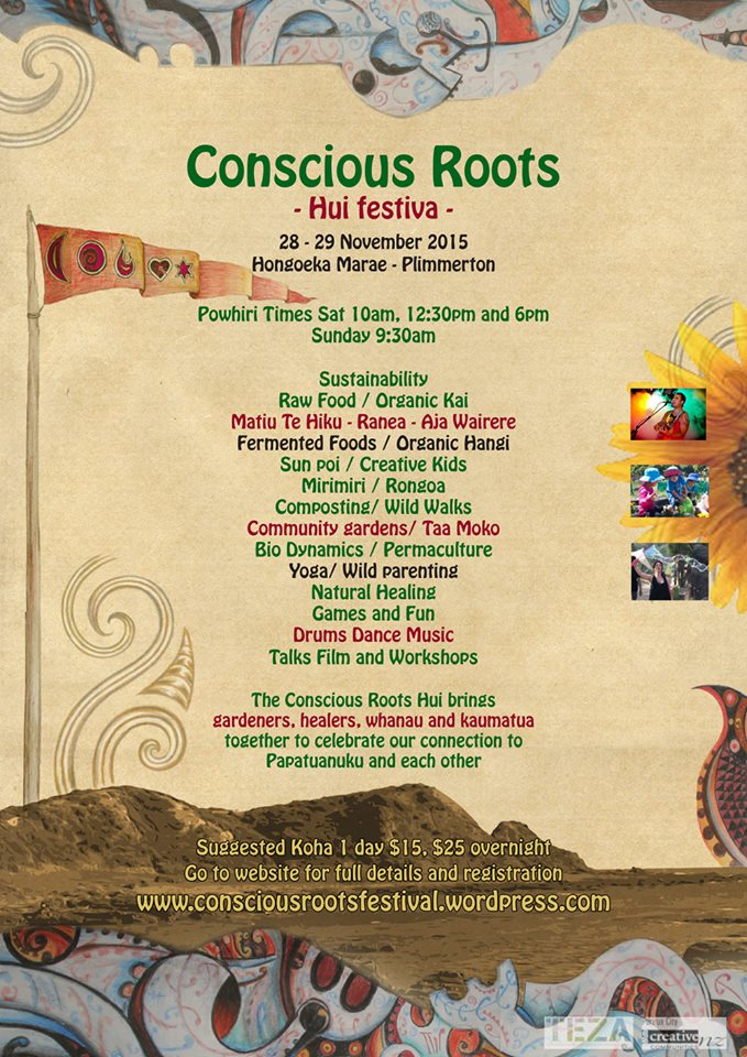 e2fafe10c22 Come check out the Conscious Roots Festival in Plimmerton 28th-29th November  2015 — Taryn Beri