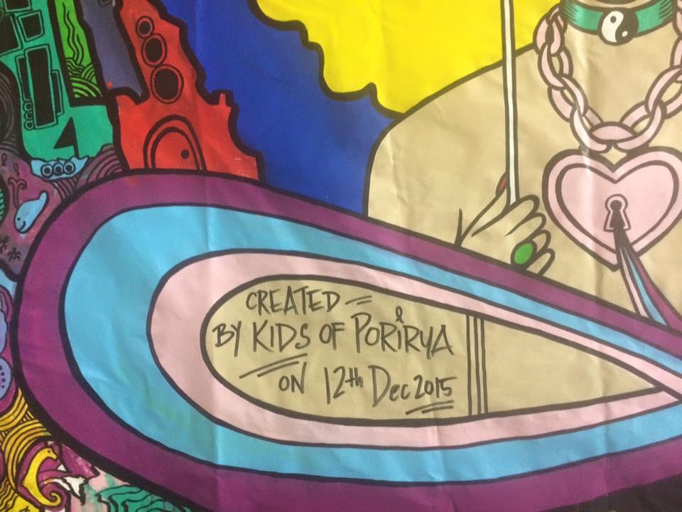porirua rangatahi youth art mural