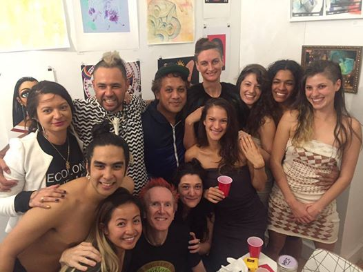 With all of the amazing dancers that graced the exhibition space on the final evening of our pop up shop exhibition.