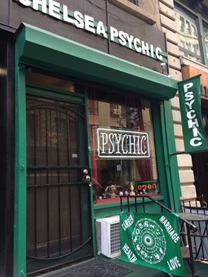 I buzzed out on how many psychic shops were in NYC - they seemed to be as common as dairies are in New Zealand!