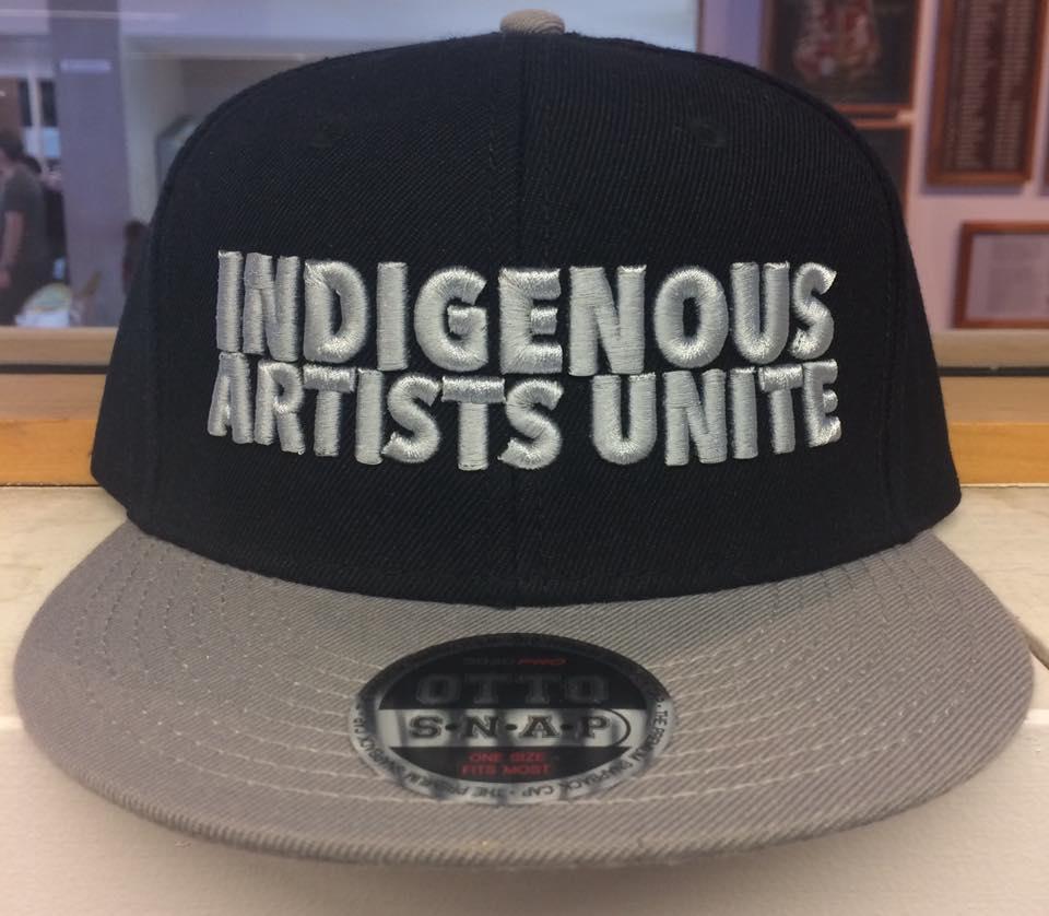 indigenous artists unite snapback taryn beri