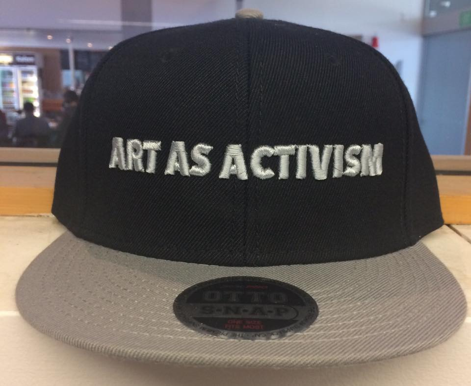art as activism hat taryn beri snapback