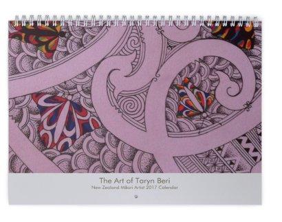 maori art calendar 2017 taryn beri