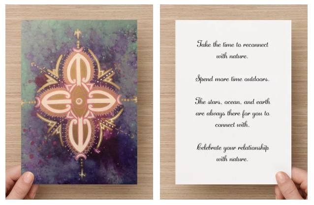buy maori art oracle cards taryn beri affirmation