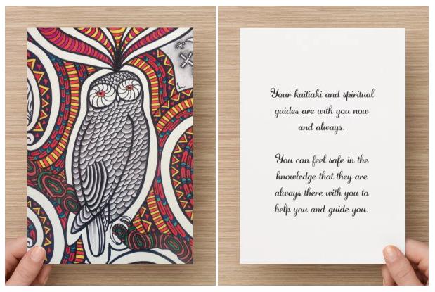 maori art oracle affirmation cards taryn beri