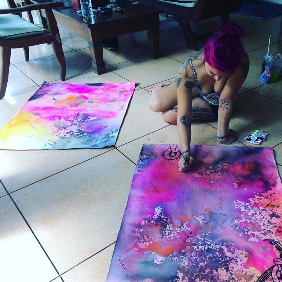 ta moko maori tattoo taryn beri art painting