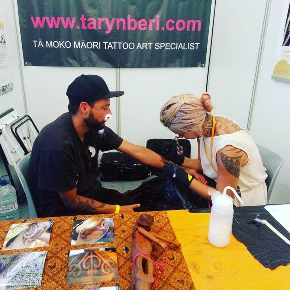 taryn beri ta moko maori tattoo wellington