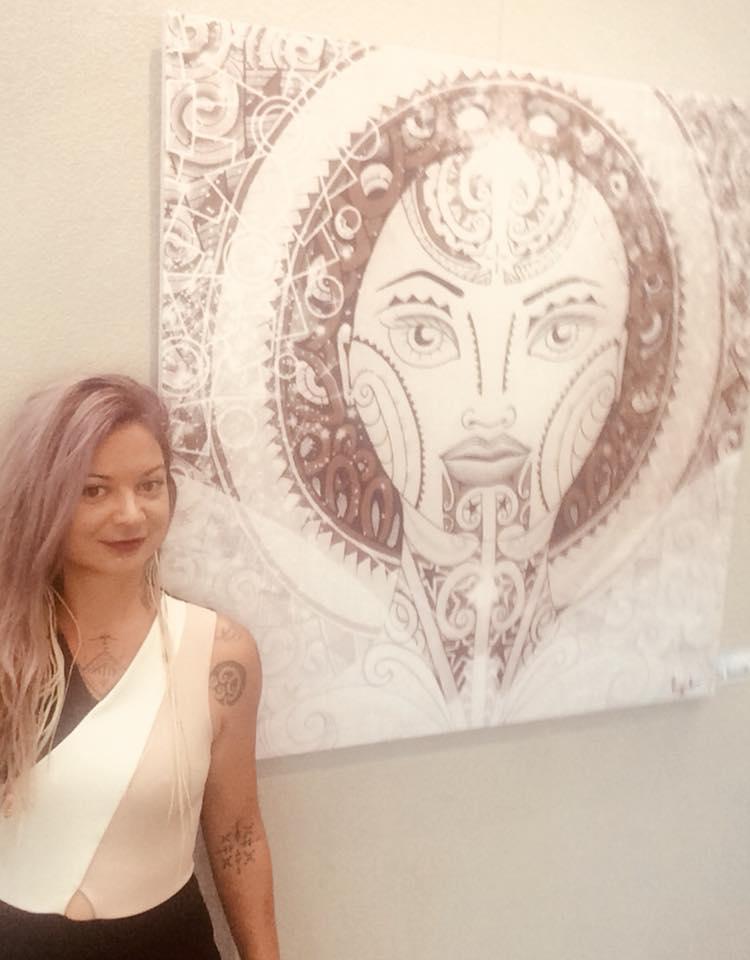 maori woman artist ngati toa