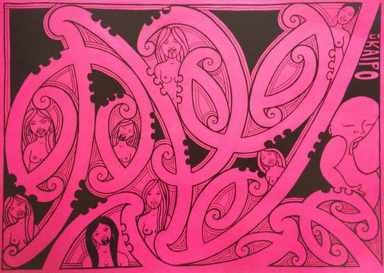 taryn beri maori art wellington otaki porirua perth