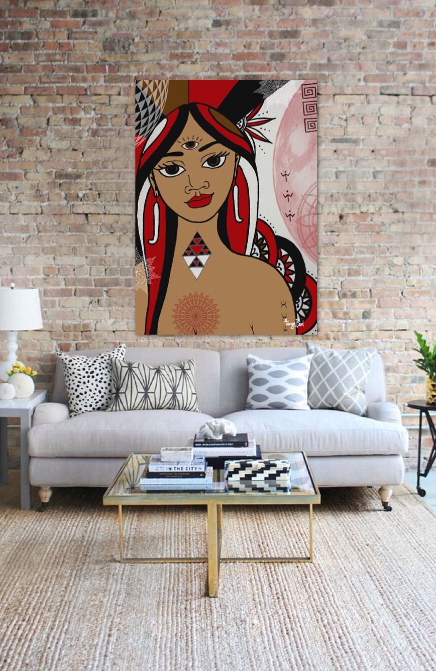 buy maori angel art spirituality oracle mana wahine