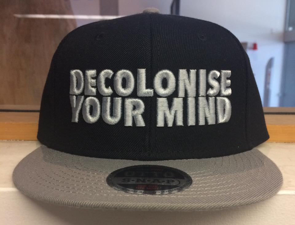 decolonise your mind snapback maori fashion design polynesian