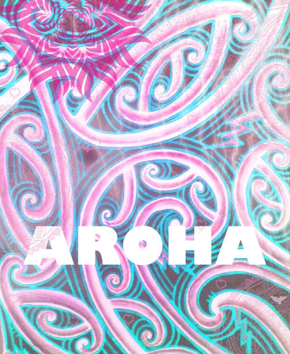buy maori art taryn beri aroha love