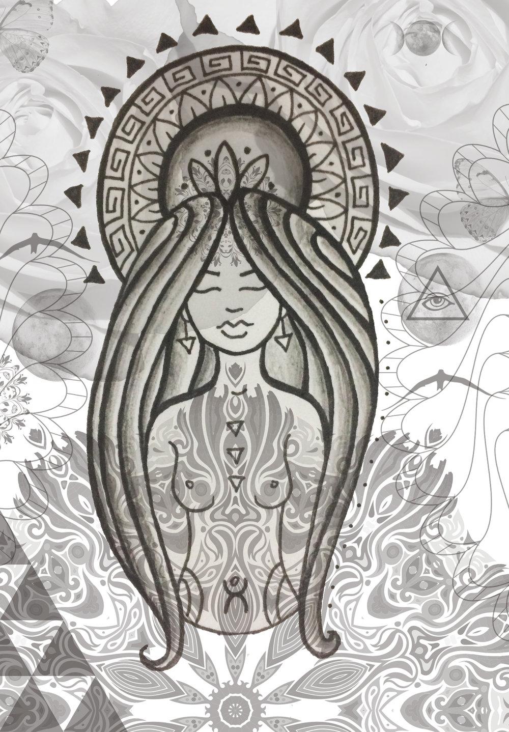 anahera maori angel spirituality aio peace wairua aroha art toi maori new zealand