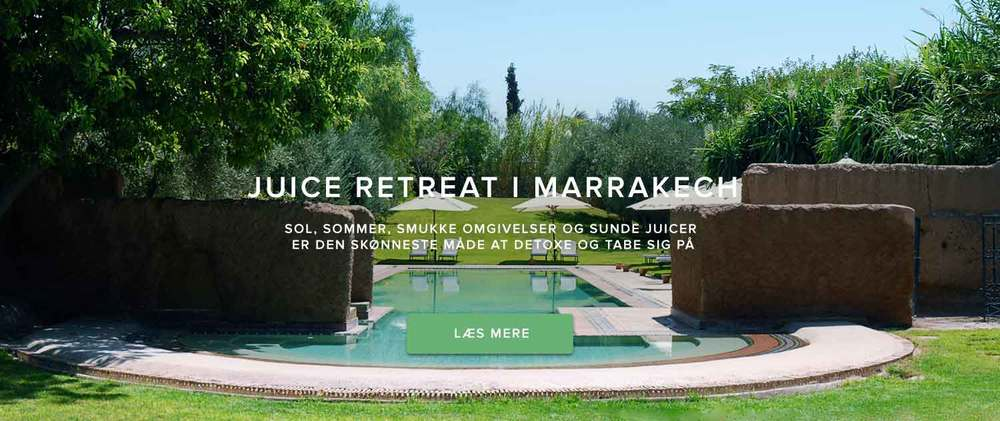 Juice Retreat i Marrakech