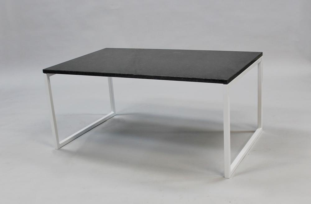 Granitbord 100x60x45 cm, vitt underrede svävande SLUT! Finns även i 120x60 cm - pris 7 000:- inkl frakt