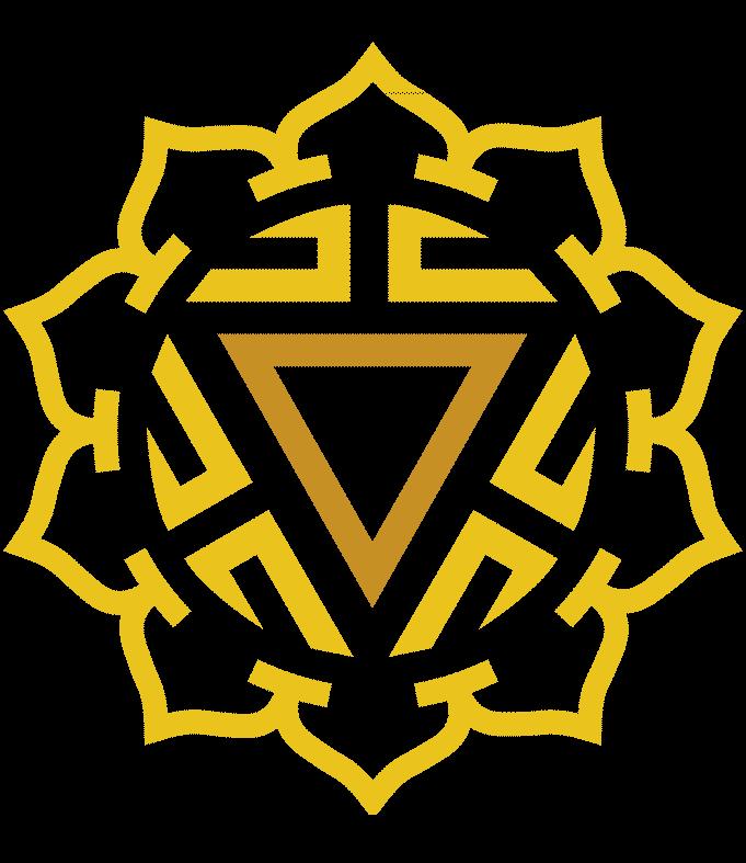Symbol for the Solar Plexus Chakra