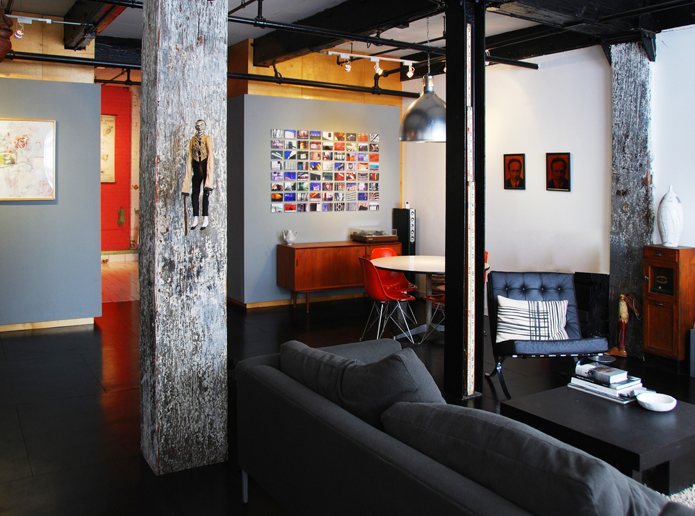 BROOKLYN LOFT .u0026nbsp;Brooklyn NY This 1,000 Sf Loft Conversion In A Former  Warehouse