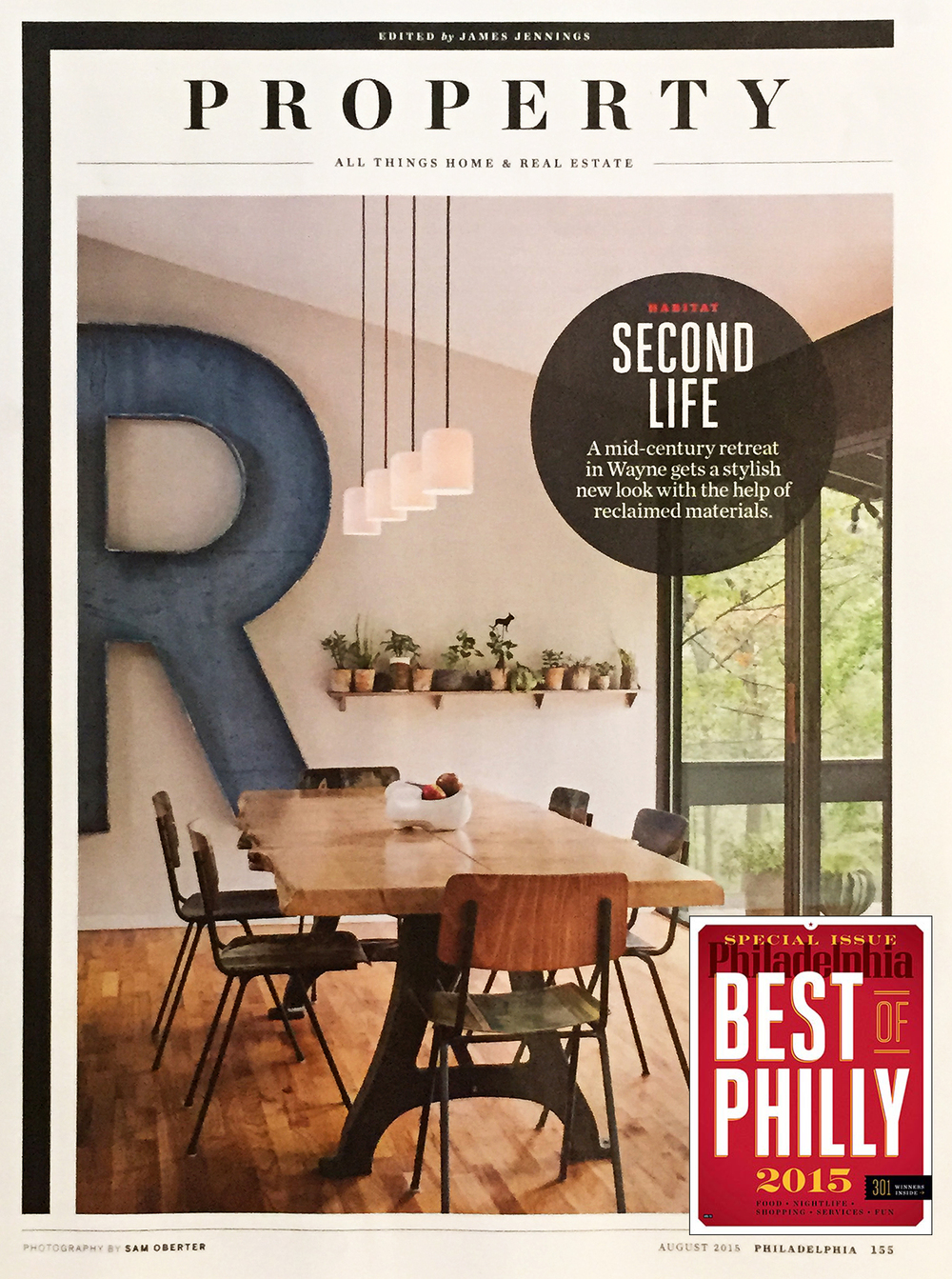 UPPER MAIN LINE RESIDENCE featured in Philadelphia Magazine