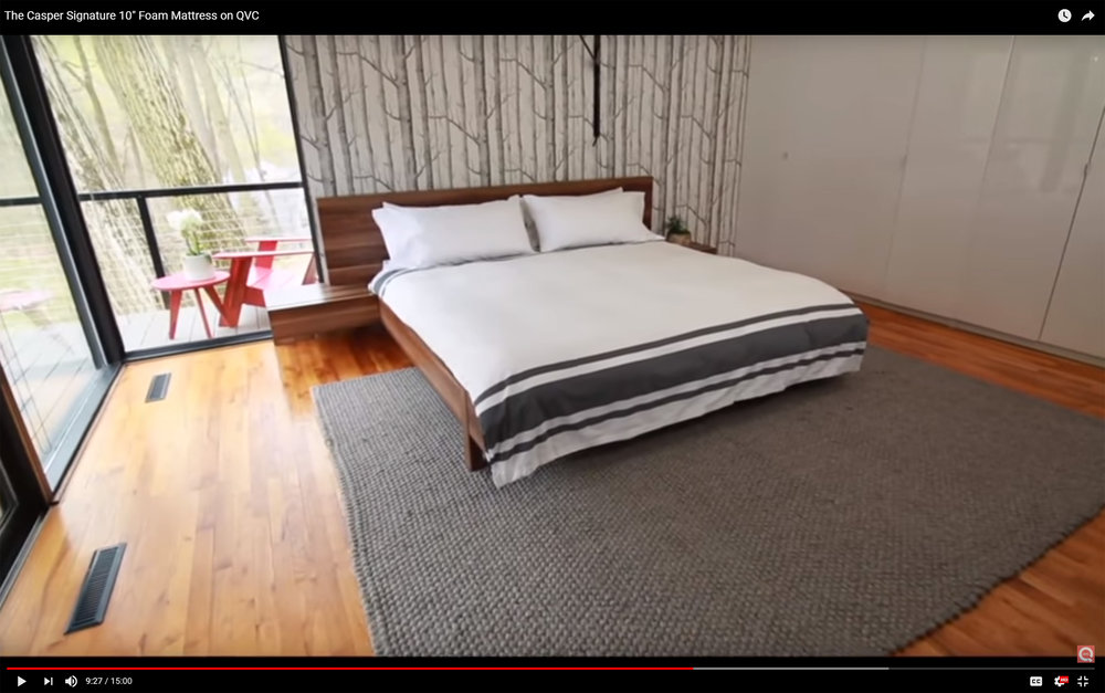 McELROY RENOVATION featured on QVC for Casper Mattress segment