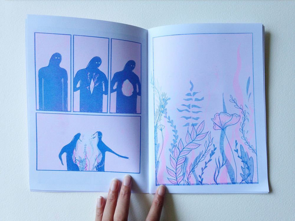 cce12bc0d7a7 WITHIN is a limited run of 50 zines printed in two colour risograph. Last  10 copies are available for purchase for $15 by emailing me at irene.feleo  (at) ...