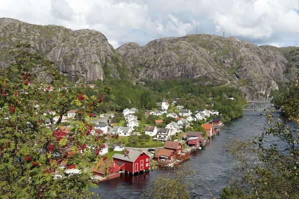 Foto: Nordsjøvegen