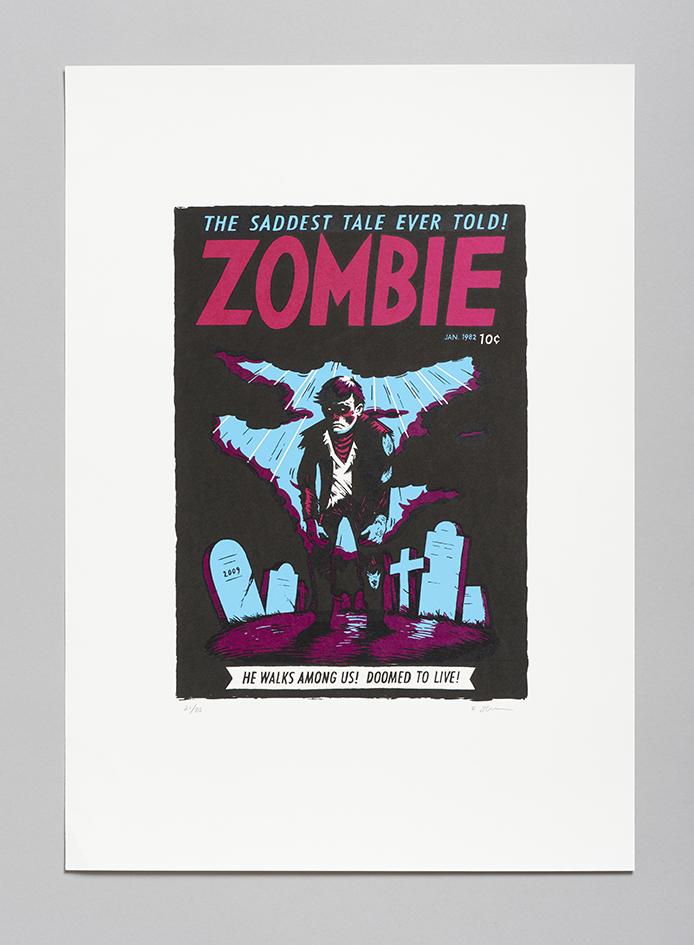 Zombie - FRODE SKAREN Silketrykk 840 kr