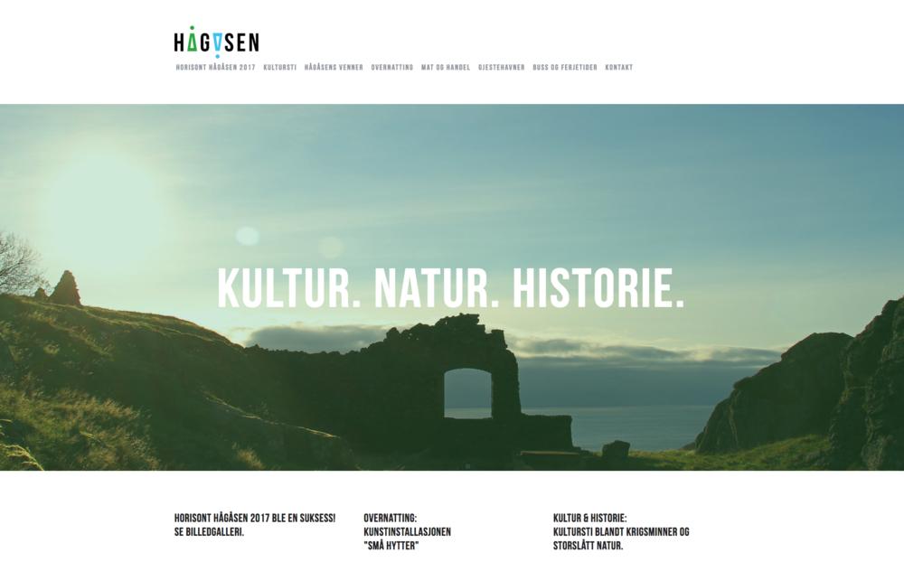Smaabyen Flekkefjord SA har utarbeidet og drifter hjemmeside for Hågåsens venner, der du kan finne informasjons og følge utviklingen av destinasjonen.