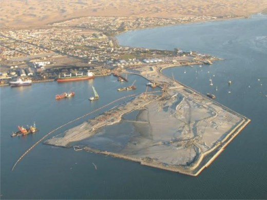 Walvis Bay enlargement, June 2015