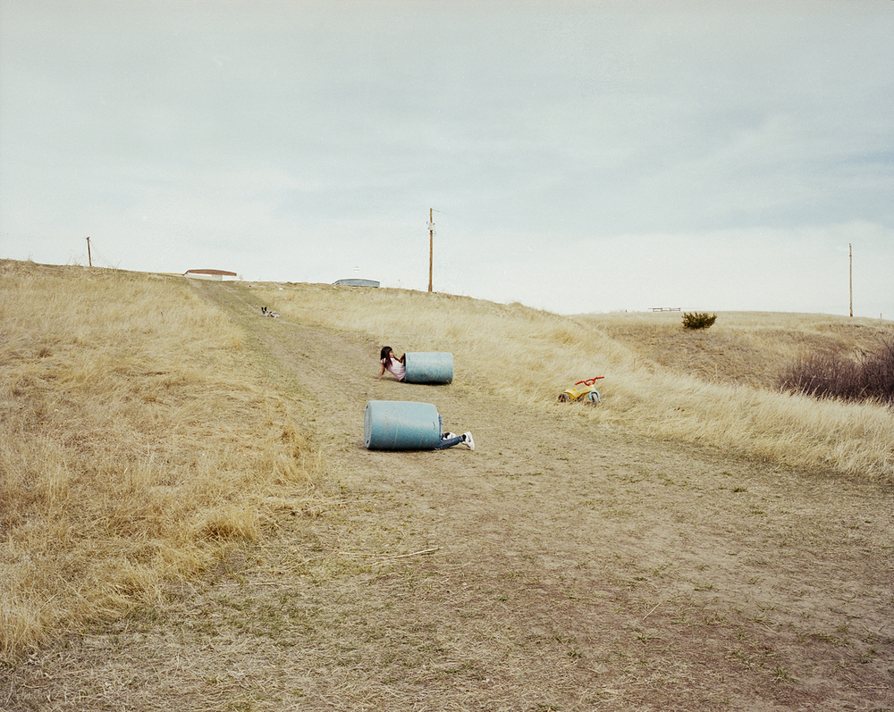 The hills. Pine Ridge Indian Reservation, South Dakota, 2012.