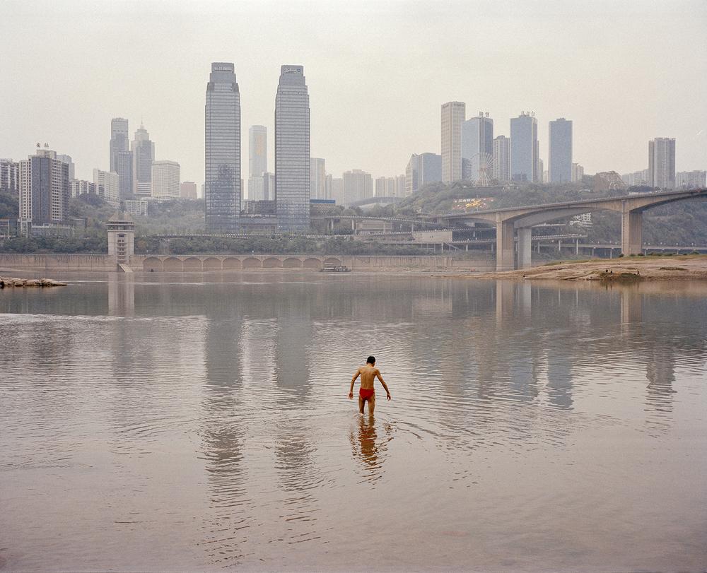 The Yangtze River. Chongqing, China, 2015.