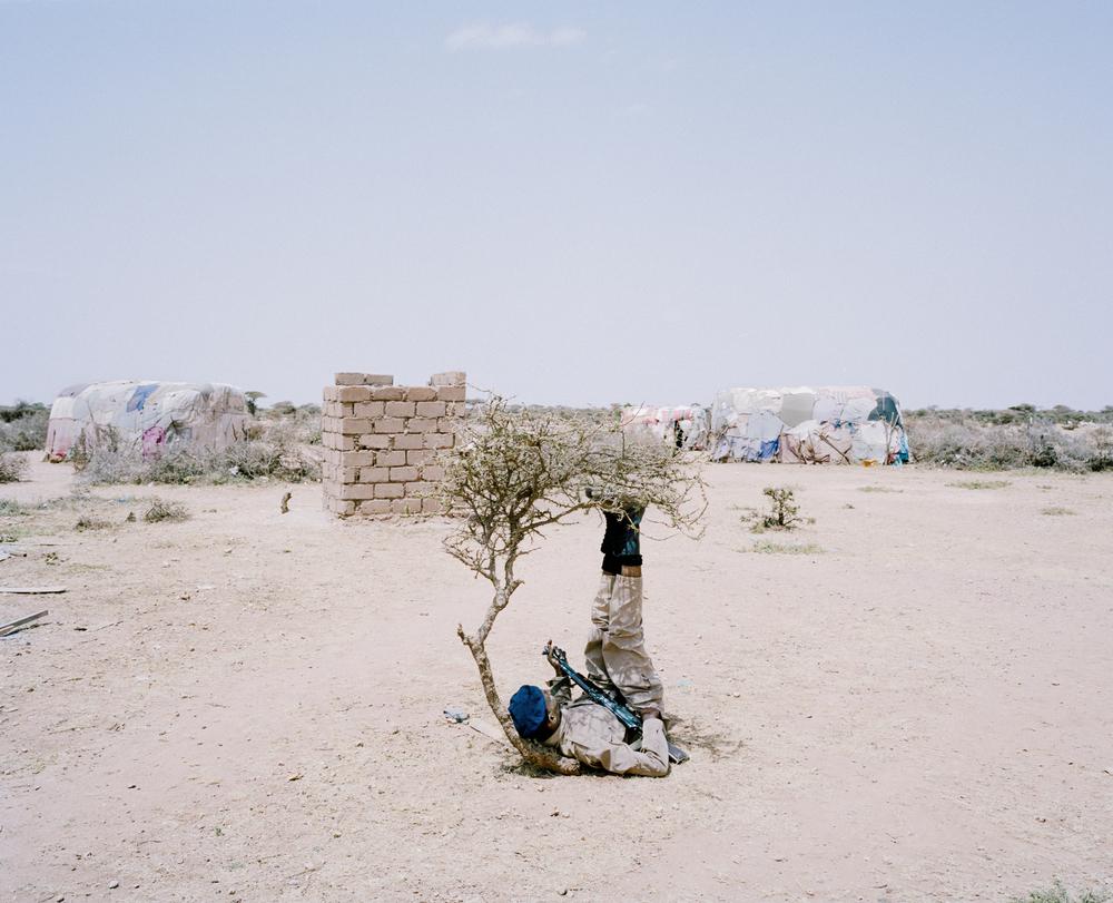 Mercenary. Somalia, 2013.