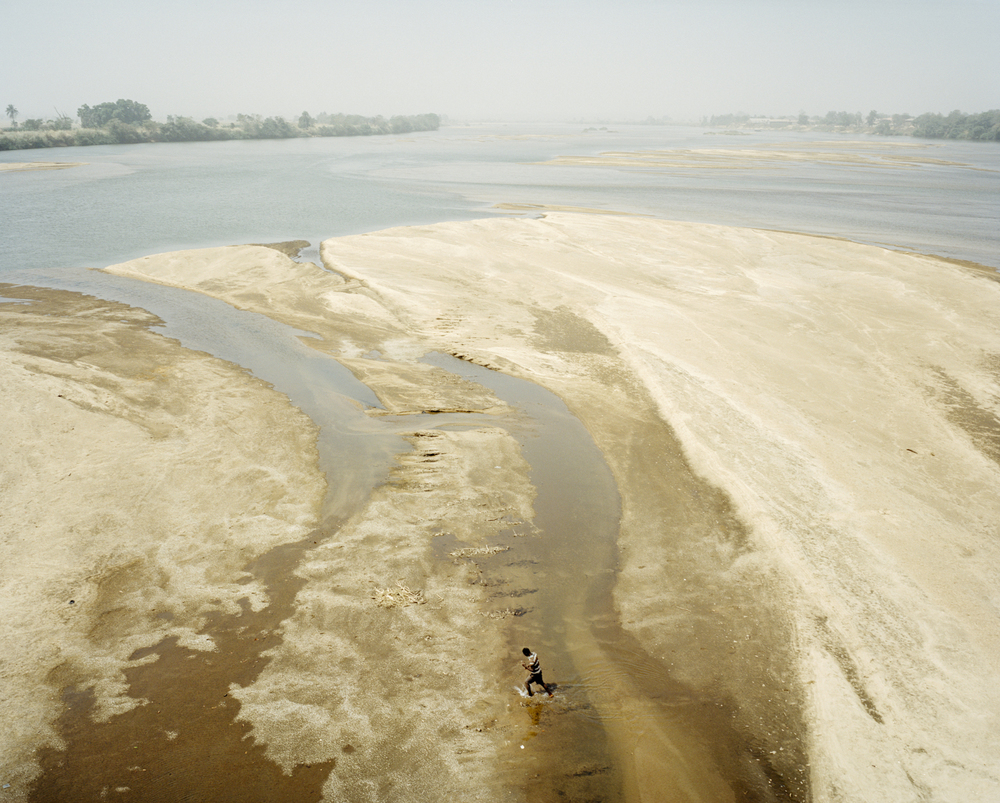 Benue River. Nigeria, 2015.