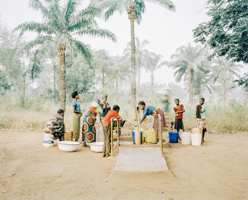 Water pump for 800 people. Osukputu, Nigeria, 2015.