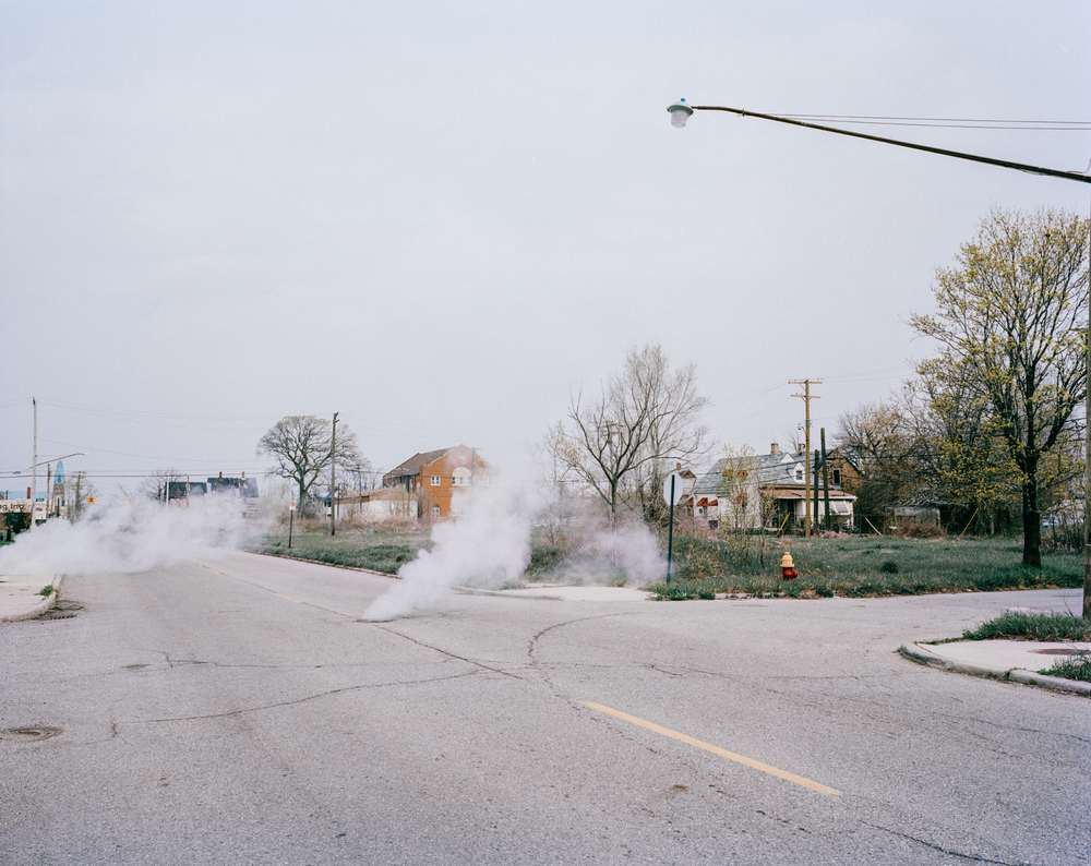 The street.Detroit, Michigan, 2012.