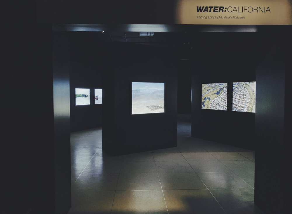 Water: California , November 12, 2015 to January 30, 2017, National Geographic Museum, Washington D.C., USA.  36 x 48 cm lightboxes (3)  30 x 40 cm lightboxes (13)