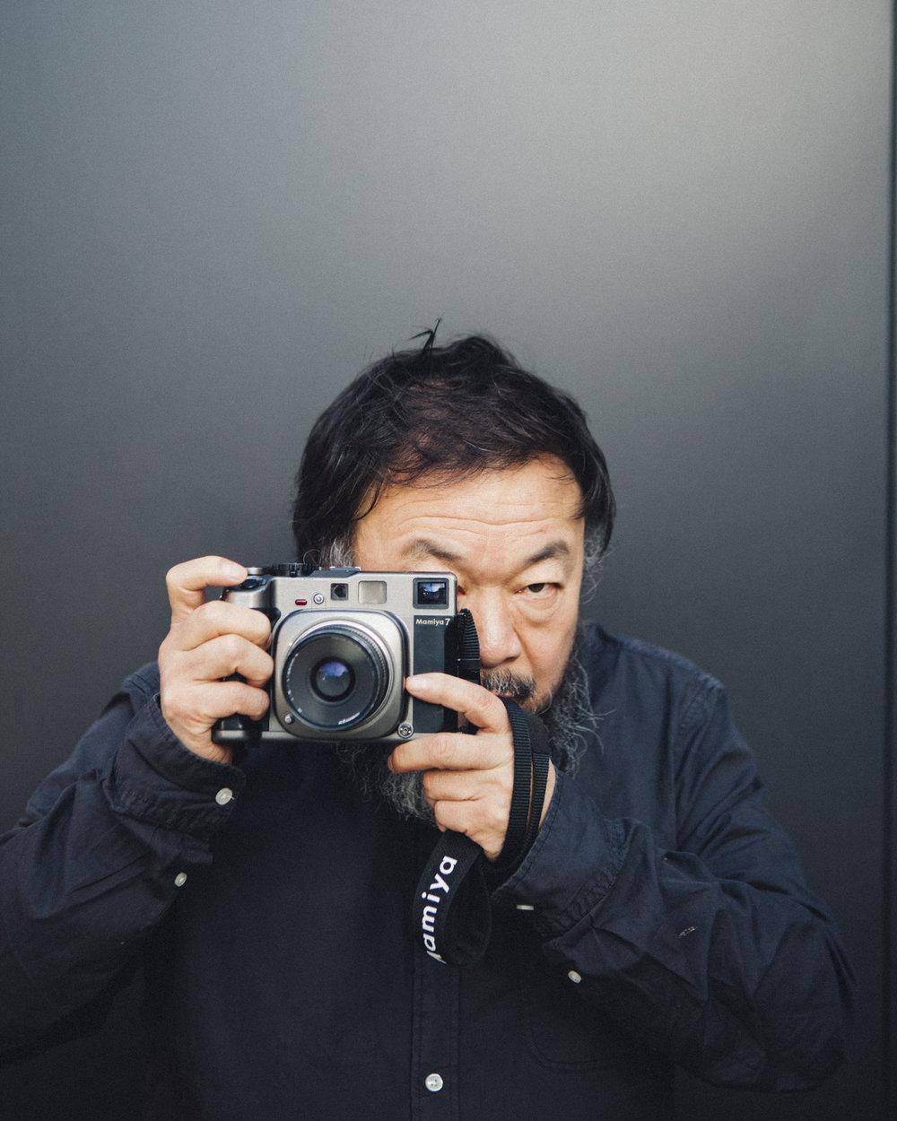 Ai Weiwei.   LE MONDE M