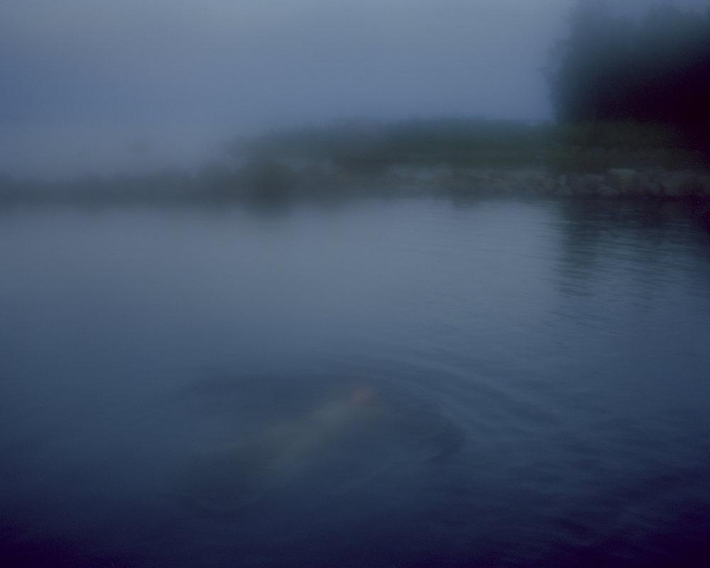 Midsummer swim. Luleå, Sweden, 2012.