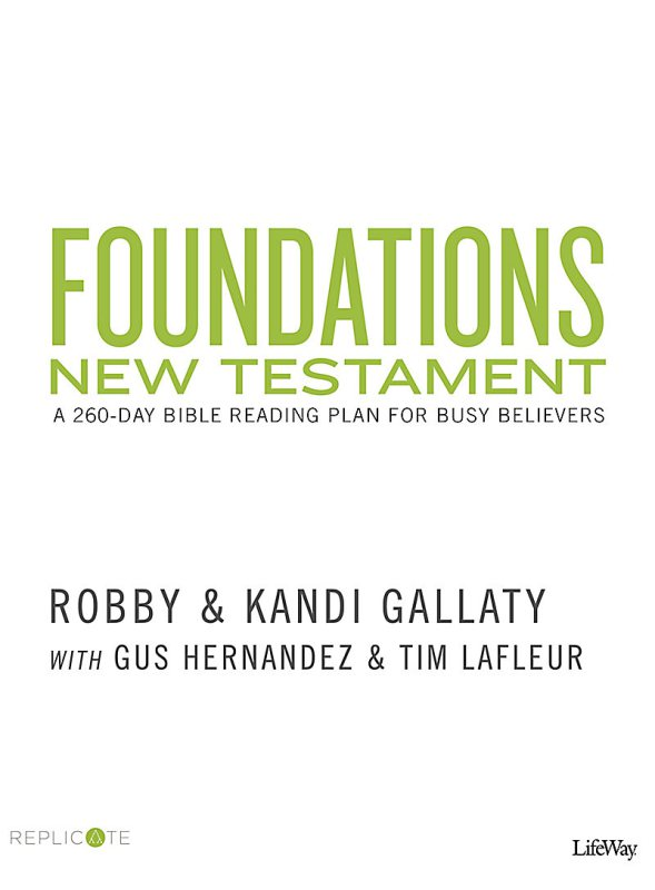 Foundations New Testament  Buy at Replicate