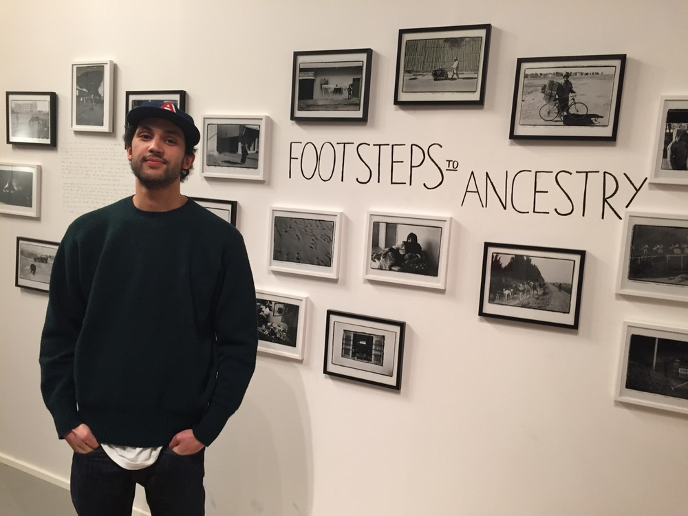 Footsteps to Ancestry exhibition by Mohamed Chakiri at CYAN Studio.