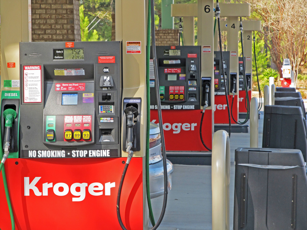 Kroger Fuel Station 3 Cents Off Every Gallon Shelter Cove Towne
