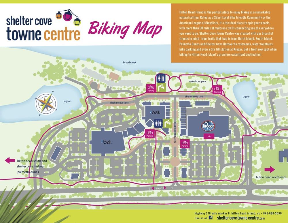 Shelter Island Bike Map