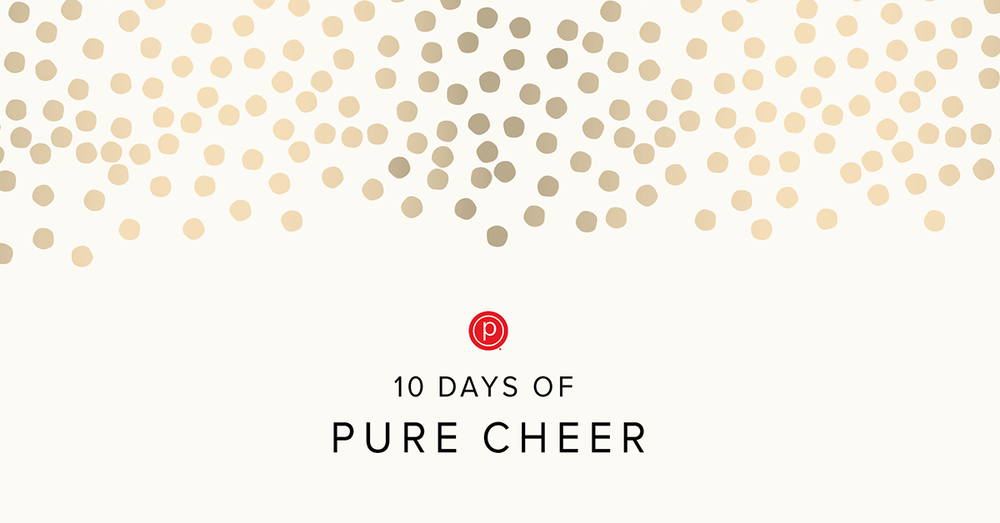 10 days of pure cheer starts Dec 15th - steals and deals every day at the barre!