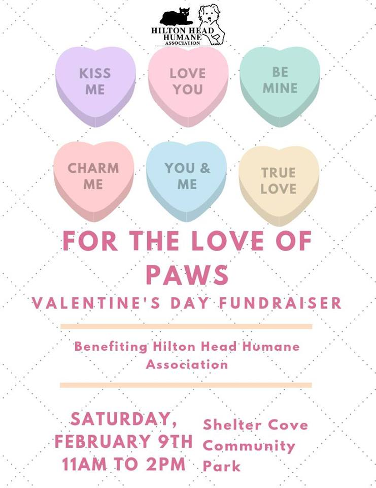 For The Love Of Paws Valentines Day Fundraiser Shelter Cove