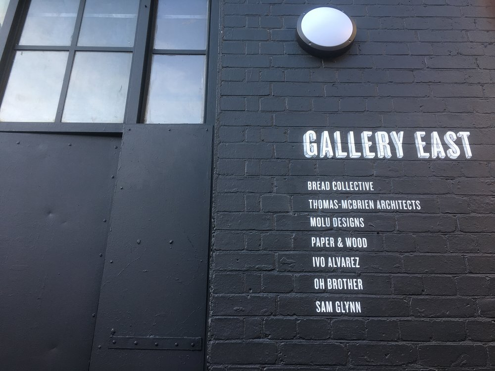 GALLERY EAST STUDIO FRONTAGE