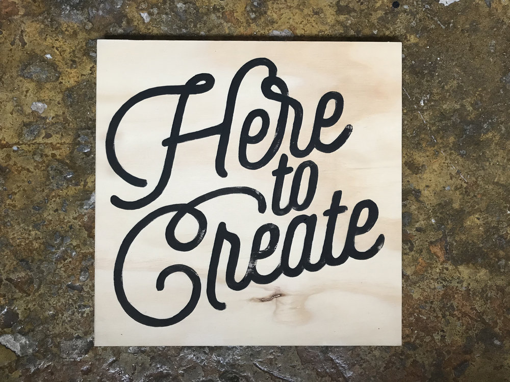 #HERETOCREATE SIGN-MAKING WORKSHOP AT ADIDAS LONDON -