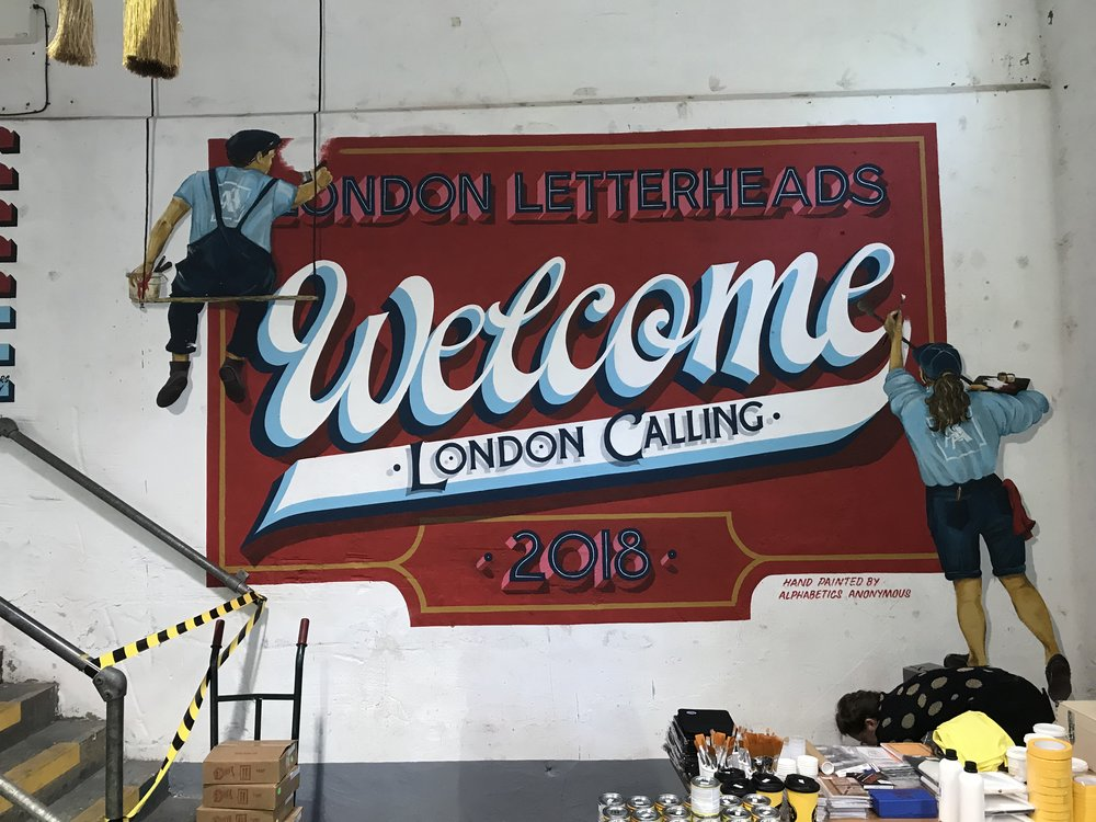 London Letterheads Meet -