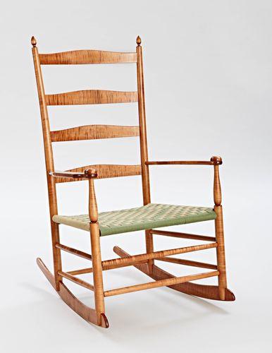 7 Mount Lebanon Shaker Rocking Chair