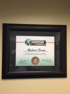 K-VEST Certification