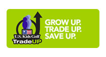 As your child grows, you can trade up to a brand new set!
